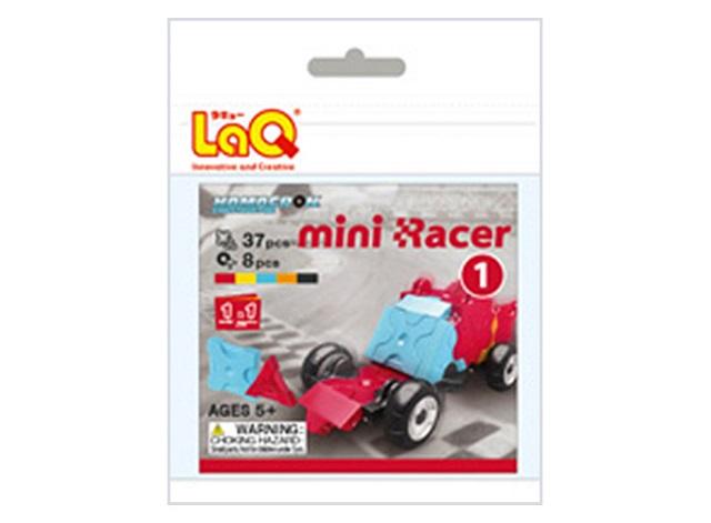 【e-child】LaQ Q版賽車-紅★日本製造立體3D拼接積木/益智玩具/台灣獨家代理