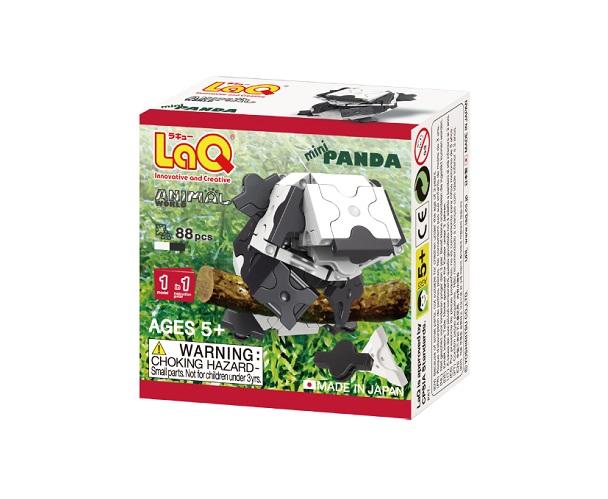 【e-child】LaQ Q版貓熊★日本製造立體3D拼接積木/益智玩具/台灣獨家代理