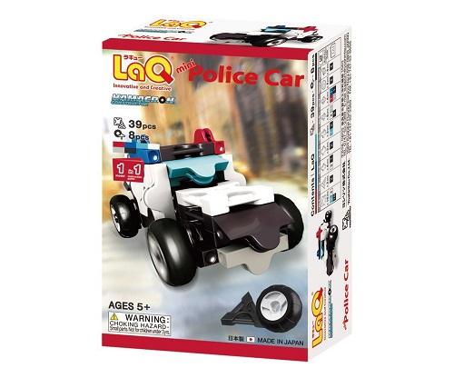 【e-child】LaQ Q版警察車★日本製造立體3D拼接積木/益智玩具/台灣獨家代理