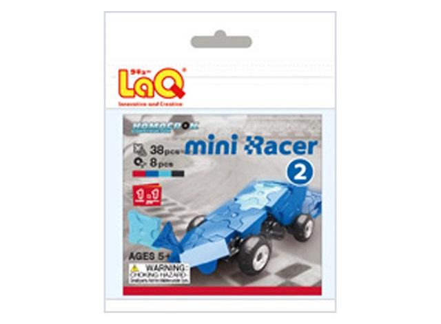 【e-child】LaQ Q版賽車-藍★日本製造立體3D拼接積木/益智玩具/台灣獨家代理