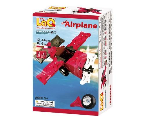 【e-child】LaQ Q版螺旋槳飛機★日本製造立體3D拼接積木/益智玩具/台灣獨家代理