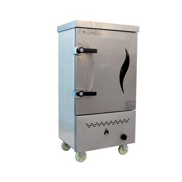 蒸飯柜 液化氣燃氣煤氣天然氣6盤蒸飯櫃蒸飯車機8格蒸箱6盤蒸車 莎瓦迪卡