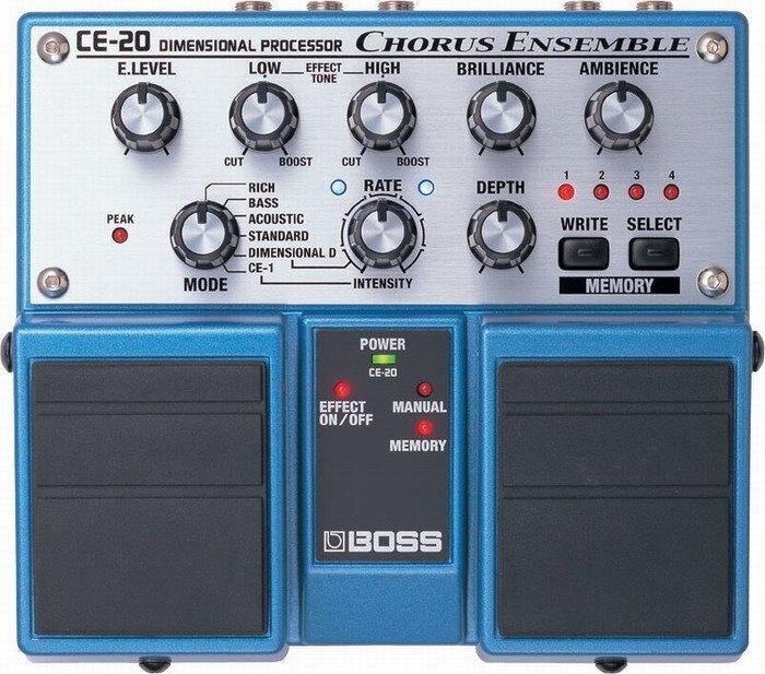 全新 BOSS CE-20 CE20 Chrous 民謠吉他/電吉他 Bass 錄音室級和聲雙踏板效果器【唐尼樂器】