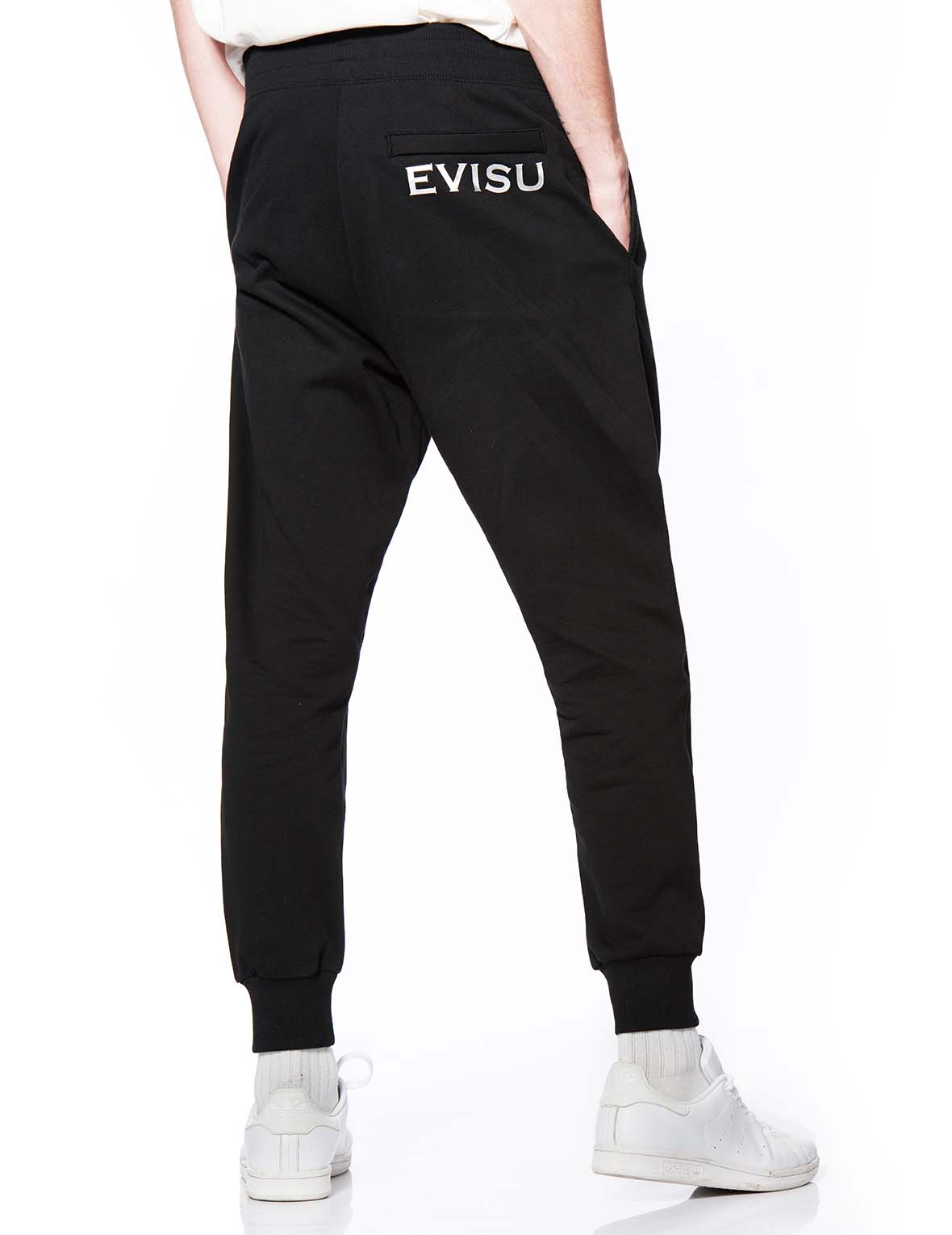 Gradient Seagull Unisex Sweatpants with Crystals by Preciosa