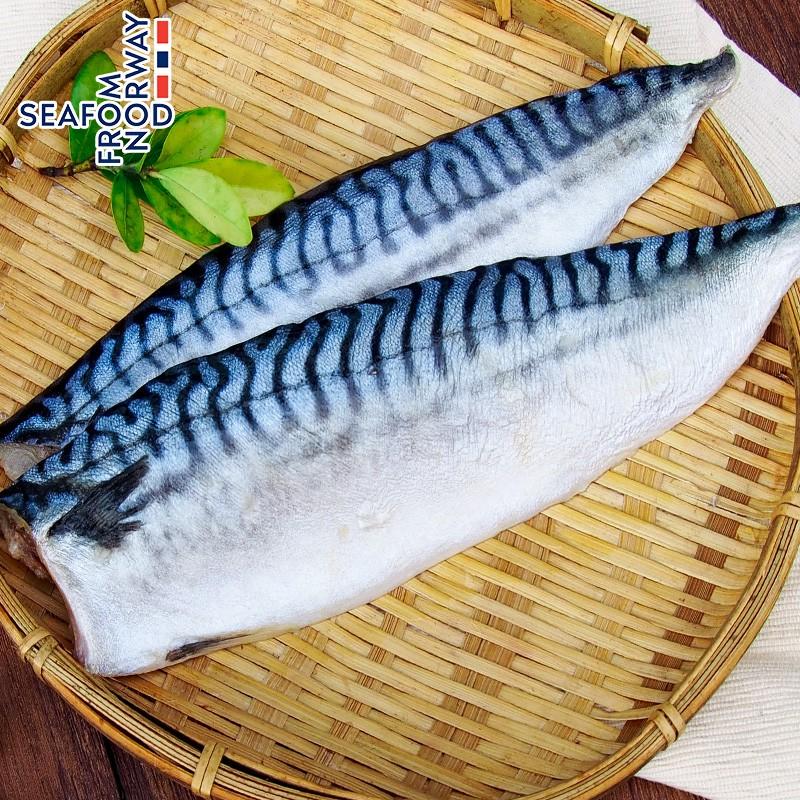 【馬姐漁舖】老饕首選挪威薄鹽鯖魚片XXL級(190g/片)