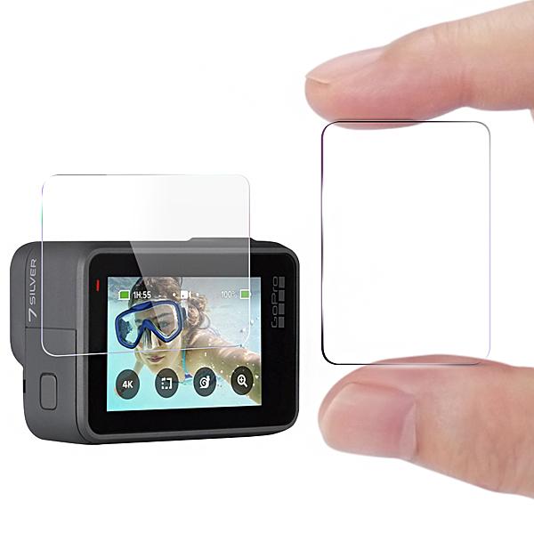 CITY for GoPro Hero7 white /Hero7 silver 觸控螢幕保護貼精美盒裝-2入