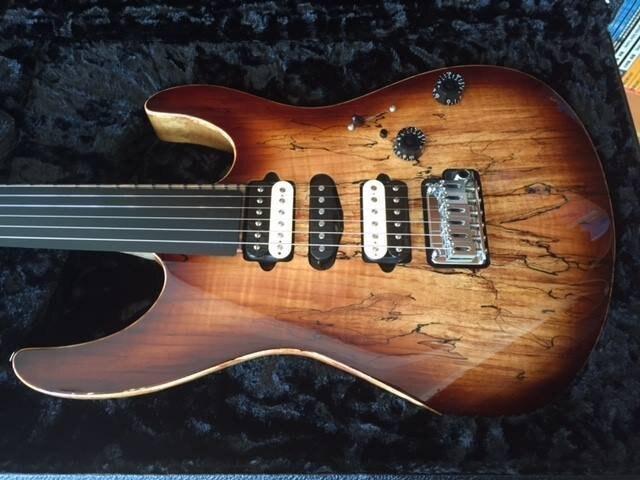 全新 Suhr Modern CUSTOM BLACK LIMBA Spalt Maple 電吉他【唐尼樂器】