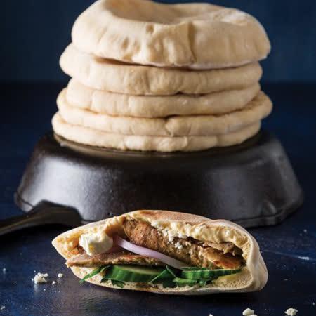 【約克街肉鋪】美國直送6寸口袋麵包18個(70g/個)