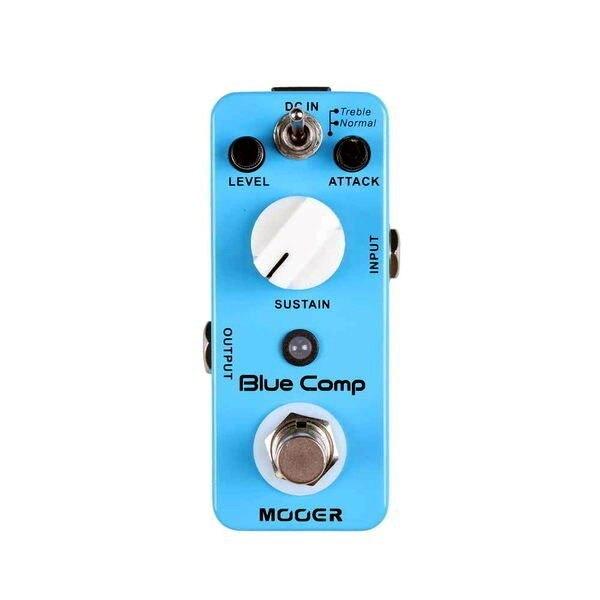 Mooer Micro Series Blue Comp 電吉他/電貝斯 Bass Compressor 壓縮效果器【唐尼樂器】