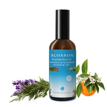 【BLOSSOM】寧靜舒緩勻體曲線緊緻修護按摩油(100ML/瓶)