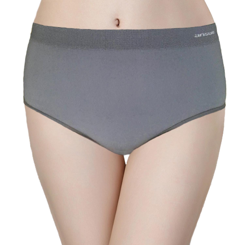 P01涼感抗菌內褲銀灰色(原價$300)