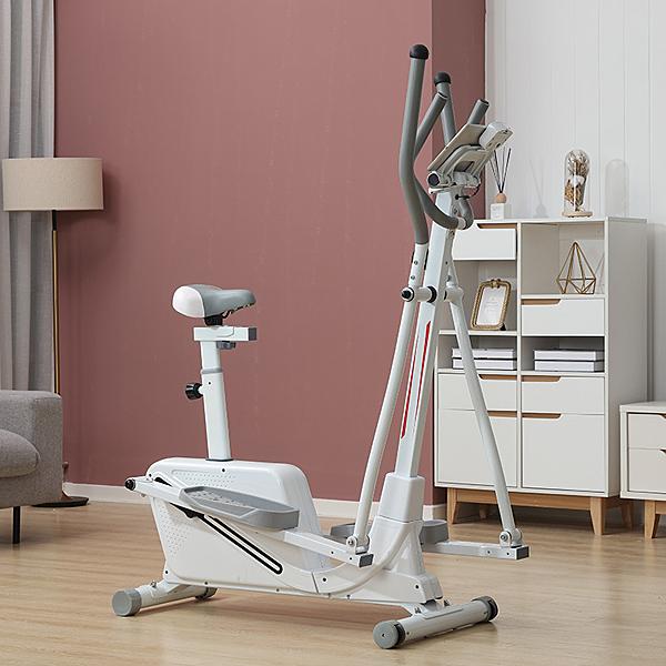 汗馬橢圓機家用磁控健身車室內動感單車靜音踏步機漫步機【新年特惠】