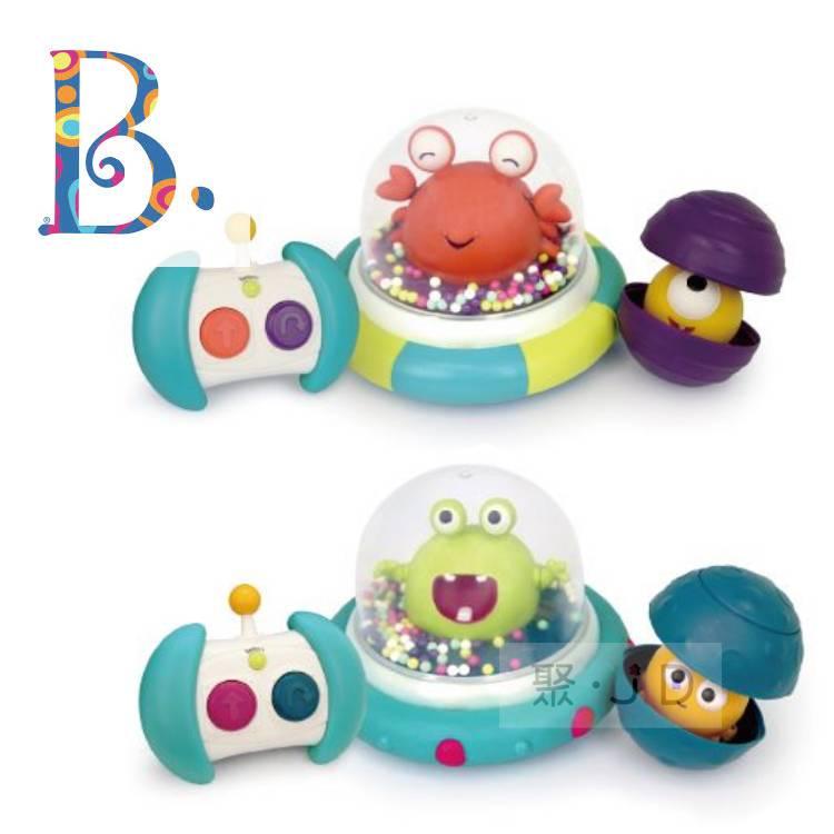 【美國 B.Toys 感統玩具】迴轉遙控車(款式、顏色隨機) - 呱呱撞火星BX1573Z/卡特撞木星BX1609Z