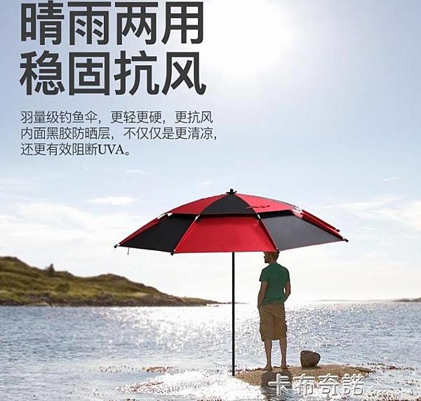 釣傘釣魚傘加厚萬向魚傘防曬遮陽防暴雨釣傘摺疊傘垂釣雙層大釣傘