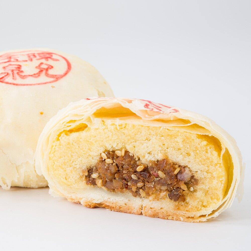 【陳允寶泉】綠豆椪禮盒(6入) 鹹香滷肉 台中美食 伴手禮 年節禮盒