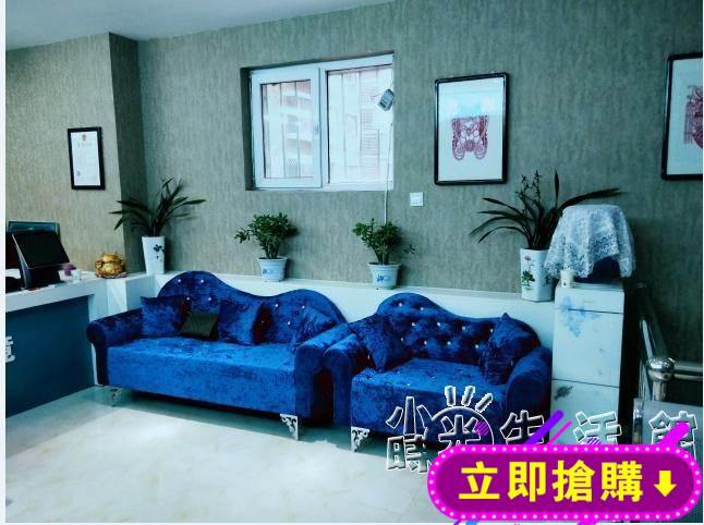 簡約歐式布藝沙發臥室雙人沙發單人三人小戶型組合沙發店鋪貴妃椅