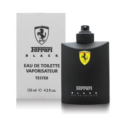 Ferrari 法拉利 黑色法拉利男性淡香水125ml TEST (環保盒/無蓋)