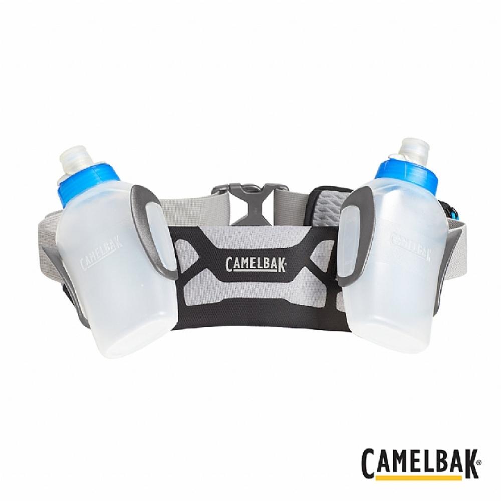 CAMELBAK ARC 2 噴射水瓶跑步腰帶(300ML 2入) 黑/灰