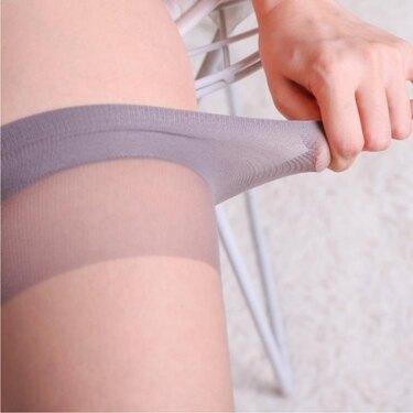 絲襪0d絲襪超薄隱形長筒襪夏季包芯絲過膝襪高筒大腿襪子 嬡孕哺