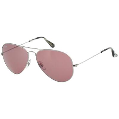 RAY BAN 太陽眼鏡(銀色)RB3025