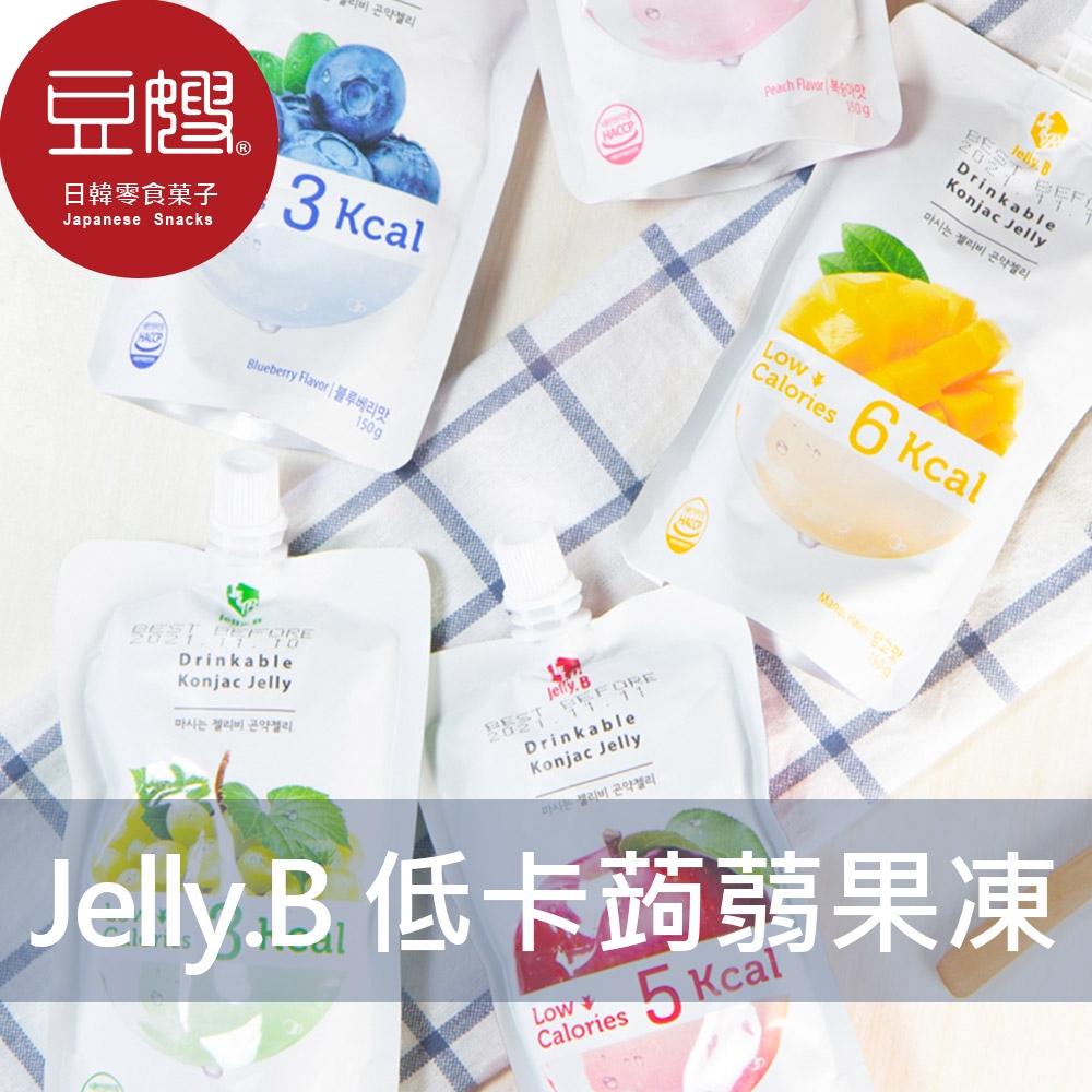【Jelly.B】韓國零食 Jelly.B 低卡蒟蒻果凍(多口味)