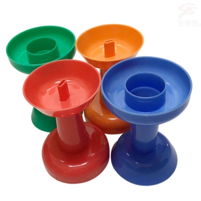 金德恩 台灣製造 甜筒冰棒輔助杯架 4入/組 顏色隨機