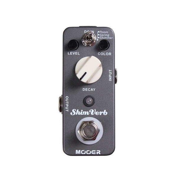 Mooer ShimVerb Reverb 木吉他/電吉他/電貝斯 Bass 殘響效果器【唐尼樂器】