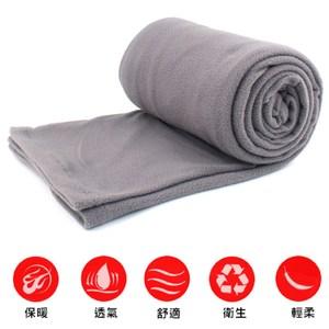 【韓國熱銷】四季可用輕薄柔軟刷毛信封式睡袋/懶人毯(七色任選)紫色