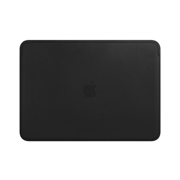 皮革護套,適用於 13 吋 MacBook Air 與 Pro - 黑色 Apple