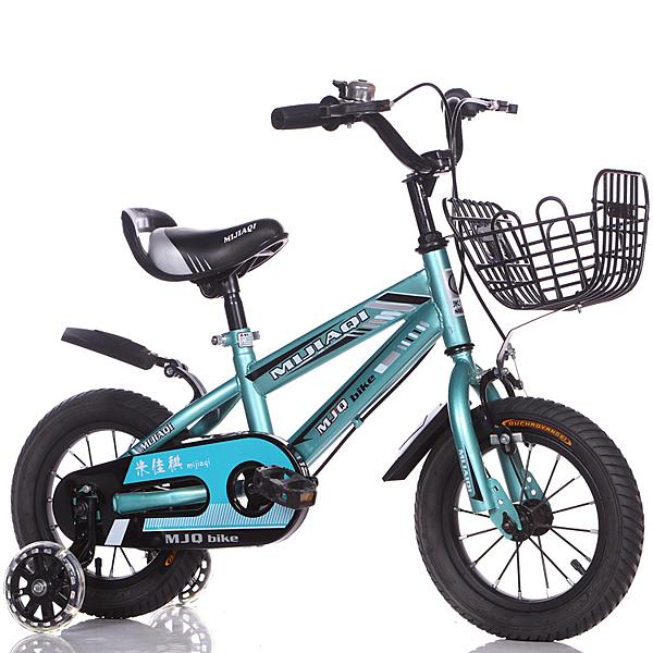 腳踏車兒童自行車12-14-16-18-20寸男女孩寶寶帶後座腳踏童車 【母親節禮物】