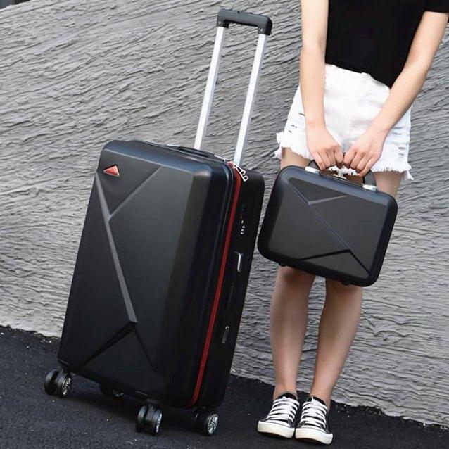 行李箱網紅拉桿箱女萬向輪行李箱20大學生高中男潮24寸旅行密LX  秋冬新品特惠