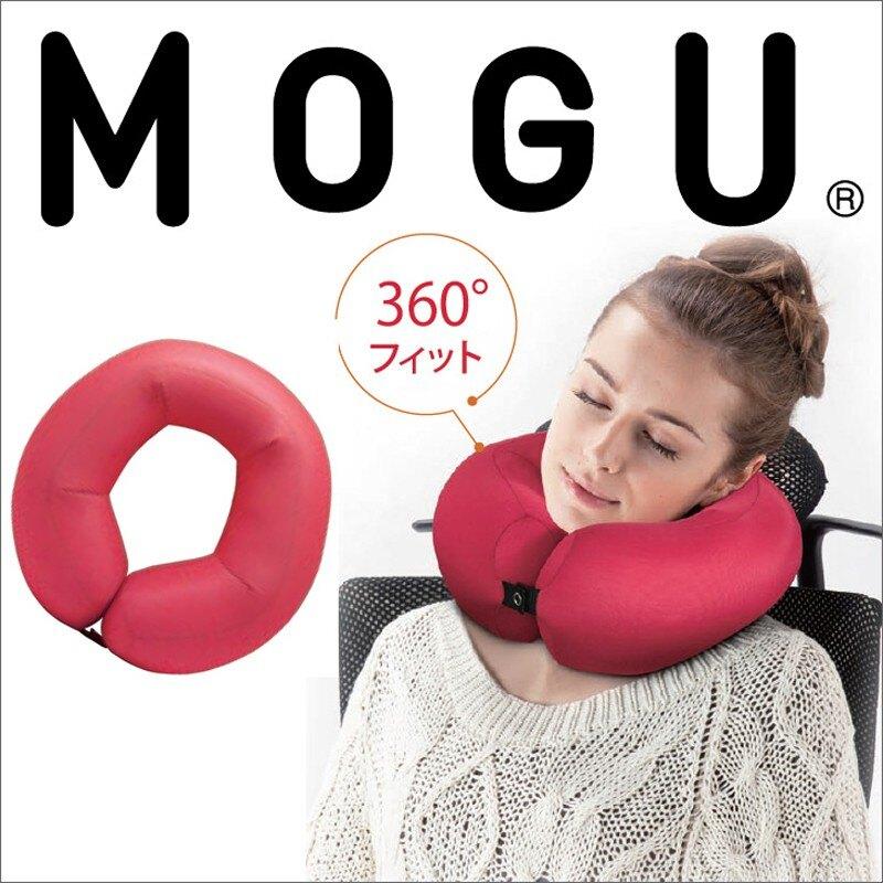 日本【MOGU】360度包覆頸枕(黑色)