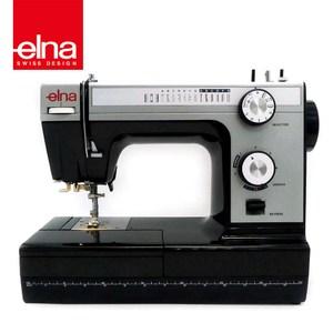 【瑞士elna】80週年紀念 黑天鵝縫紉機 HD-1000