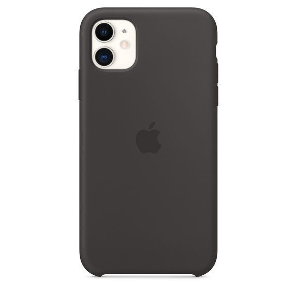 iPhone 11 矽膠保護殼 - 黑色 Apple