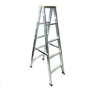 5尺四層鋁梯2.0厚約高150公分