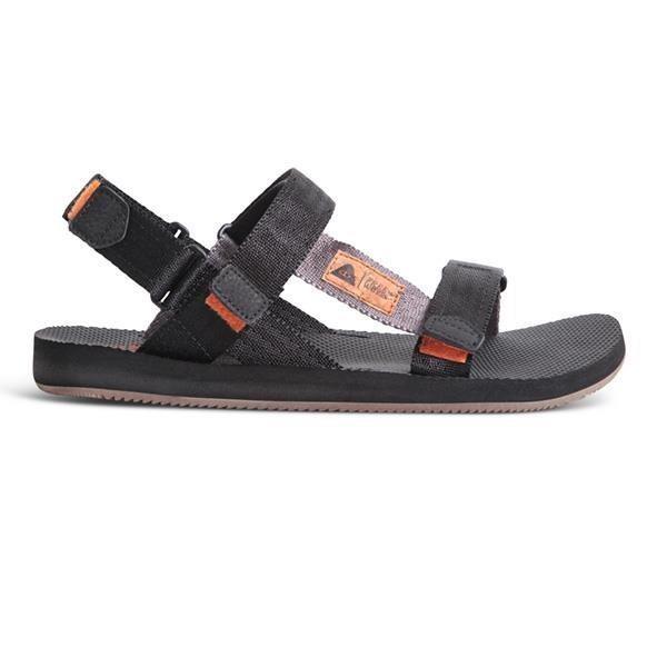 【freewaters】X【POLeR】聯名款寬織帶可拆式涼鞋 / 黑