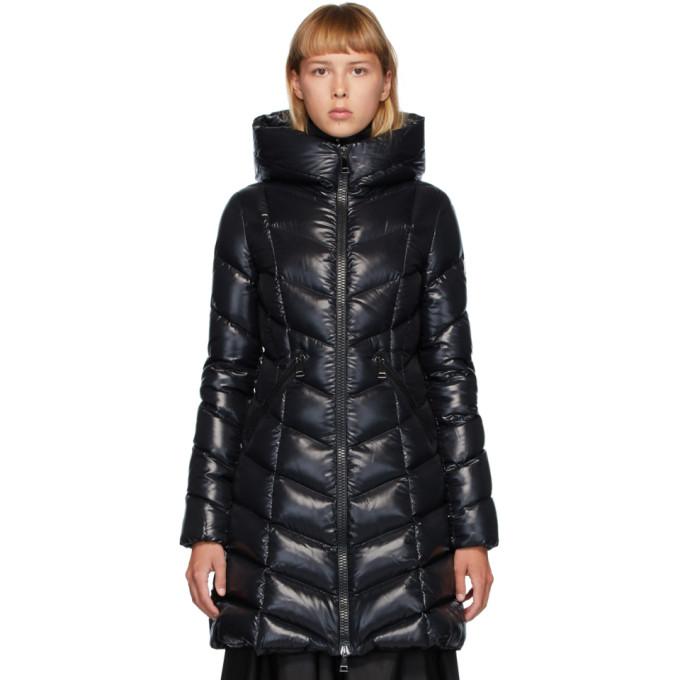 Moncler 黑色 Marus 羽绒大衣