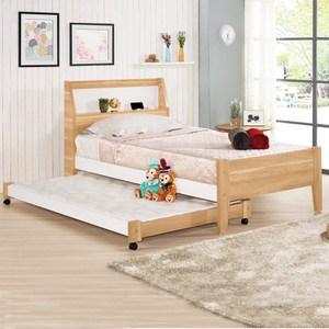 Homelike 格里子母床-單人3.5尺( 不含床墊)