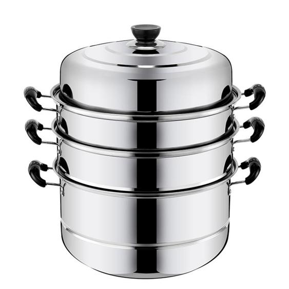 蒸籠 不銹鋼蒸鍋三層多1層加厚湯鍋具蒸格蒸籠饅頭3層二2層電磁爐家用