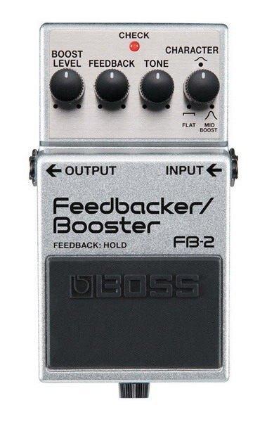 Boss FB-2 Feedbacker/ Booster 電吉他單顆增強/音箱回饋效果器【唐尼樂器】