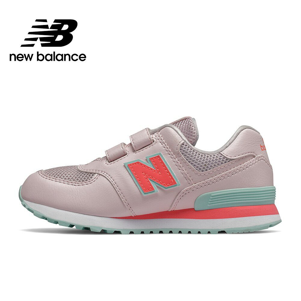 【New Balance】 復古鞋/童鞋_中性_粉紅_YV574GCP-W楦 574