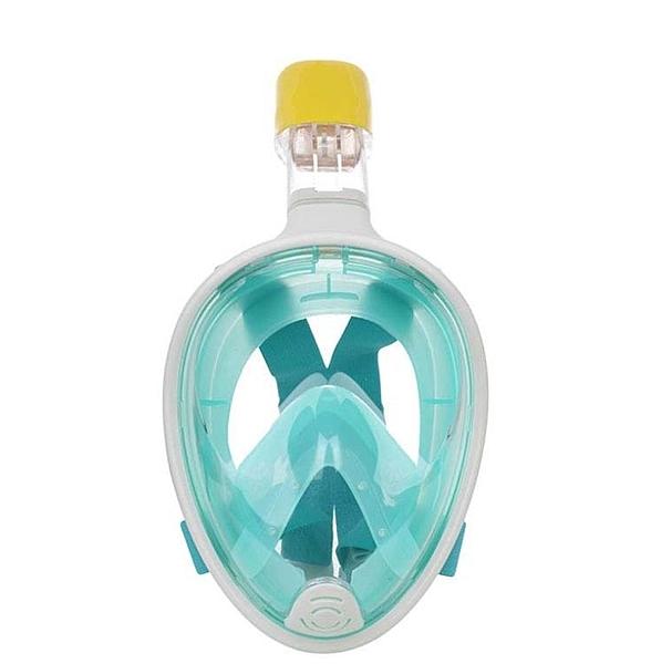 全乾式潛水面罩成人矽膠浮潛套裝gopro防霧攝像潛水鏡 【快速出貨】
