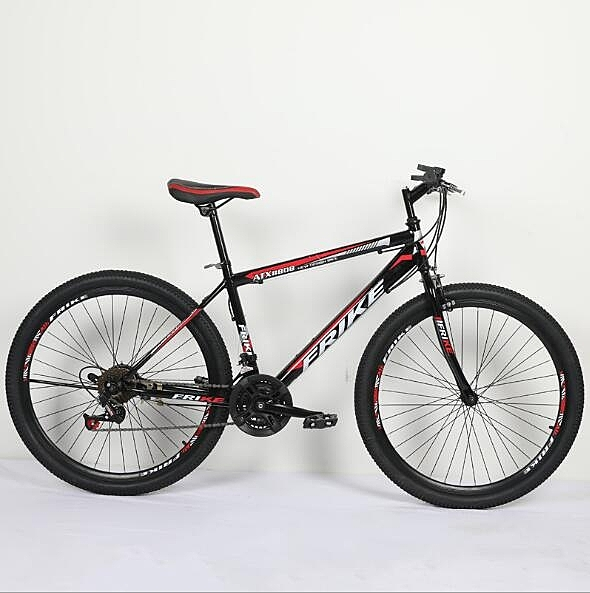 腳踏車21速普通版26寸山地自行車成人男雙碟剎減震 【母親節禮物】