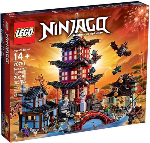 樂高積木 70751 旋風 忍者 空術神廟 ( LEGO Ninjago Temple )