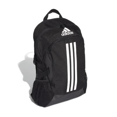 adidas 後背包 Power 5 Backpack 男款 愛迪達 三線 基本款 運動休閒 穿搭 黑 白 FI7968