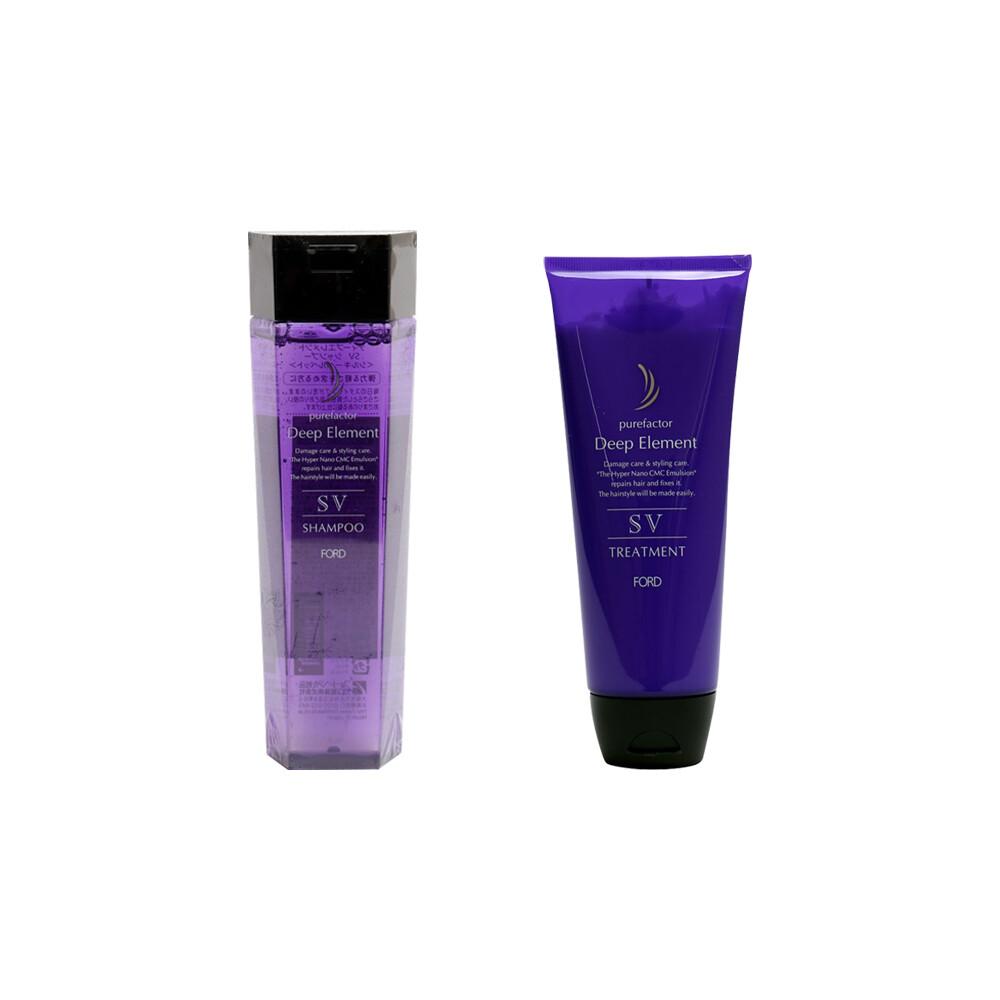 現貨免等 ford 明佳麗 正品公司貨 紫晶 sv 洗髮精  護髮素