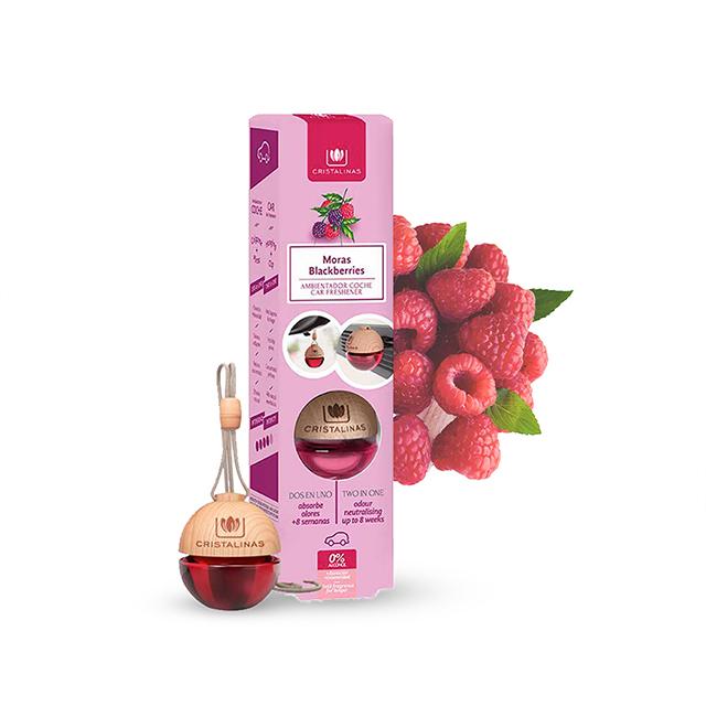 Cristalinas 車用球型植萃香氛 6ML 野莓