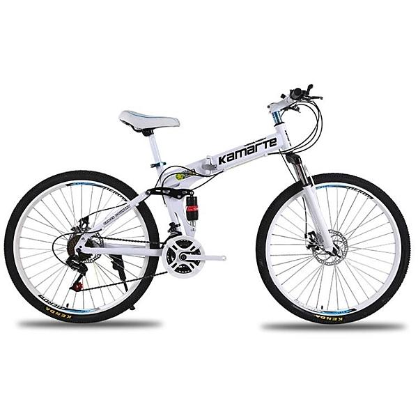 腳踏車24速26/24寸折疊山地自行車26寸成人變速學生單車 【母親節禮物】