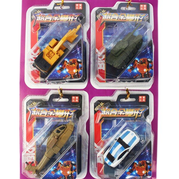 超合金 合體變形車 合體版(一套)/一套4款入(促80) 迷你變形金剛 ST安全玩具-首BB6255-CS86255