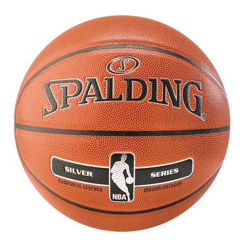 Spalding 17 NBA PU [SPA76018] 籃球 7號 室內外 耐磨 穩定 抓握 附球針 球網 橘銀